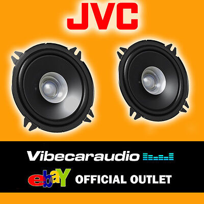 "JVC CS-J510X 13cm 5.25"" 250 Watts Cheap Car Door Coaxial Replacement Speakers BN"