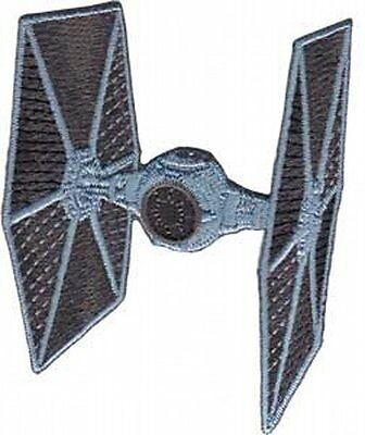 Star Wars Tie Fighter Ship Die-Cut Embroidered Patch, NEW UNUSED