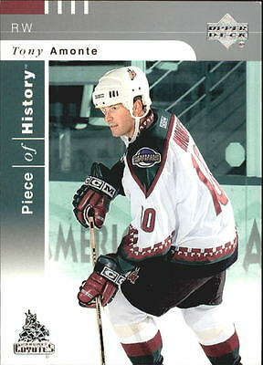 2002-03 (HKY) UD Piece of History #70 Tony Amonte