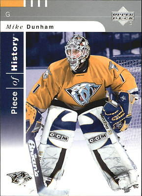 2002-03 (HKY) UD Piece of History #54 Mike Dunham
