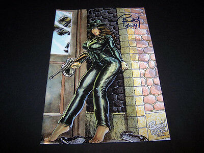 Signed Budd Root Cavewoman Gangster #2 Special Limited Edtion Of 750