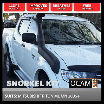 Snorkel Kit for MITSUBISHI TRITON ML MN 2006 Onwards *Overflow bottle supplied*