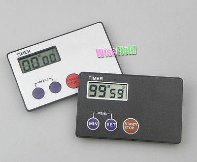 Timer Pocket Kitchen Egg Kitchen Study Cooking Countdown (Credit Card Size) WFEU