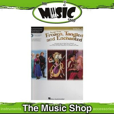 New HL Play Along: Songs from Frozen, Tangled & Enchanted for Viola Music Book
