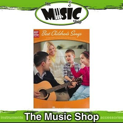 New Easy Guitar: Best Children's Songs Music Book with Notes & Tab
