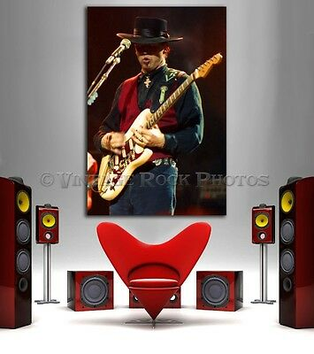 Stevie Ray Vaughan Poster 20x30 inch Pro Canon Photo '80s Live Concert Print 6