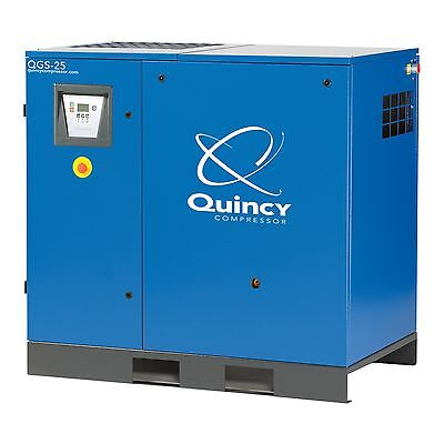 Quincy Rotary Screw Compressor 15 25 30 40 Hp Air End Rebuild