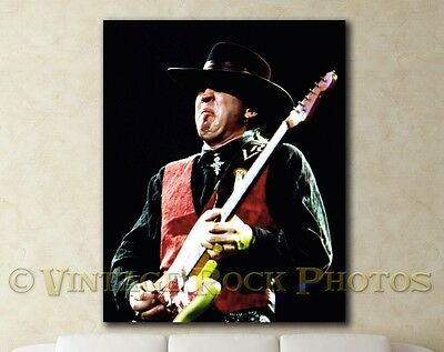 Stevie Ray Vaughan Poster 16x20 inch Photo '80s Live Concert Pro Canon Print 10