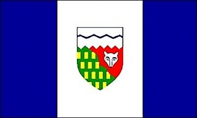 Large 3x5 High Quality 100% Polyester Northwest Territories Flag - Free Shipping