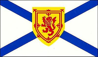 Large 3' x 5' High Quality 100% Polyester Nova Scotia Flag - Free Shipping