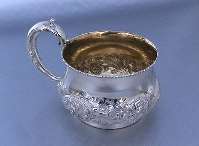 Sterling Silver Repousse Cup Mug Bailey, Banks & Biddle / Frank Smith