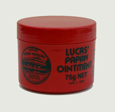 Lucas Papaw (Pawpaw) Ointment 75g Pot - Available from the UK