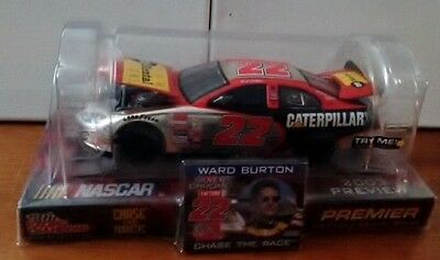 Racing Champions 2003 NASCAR Preview Ward Burton 1/24 CAT Chrome Chase 516/1000