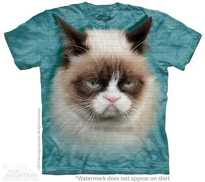 Grumpy Cat Kids T-Shirt from The Mountain. Youth Children's Sizes NEW