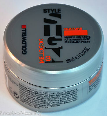 GOLDWELL Style Sign Texture MELLOGOO Modelling Paste 3x 100ml (10,63€/100ml)