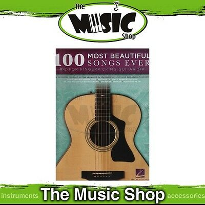 New The 100 Most Beautiful Songs Ever for Fingerpicking Guitar Music Book