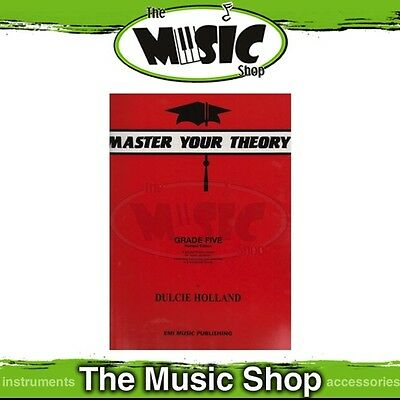 New Master Your Theory Music Tuition Book  - Orange Grade 5 - MYT