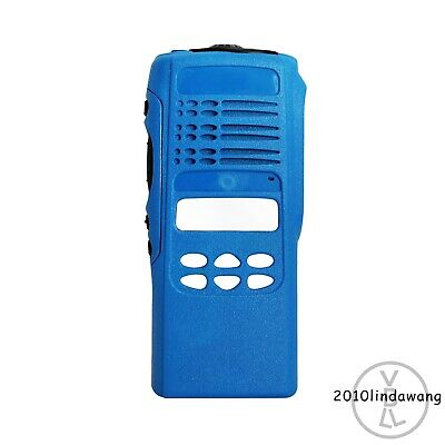 Blue Repair kit Housing Case For Motorola HT1250 limited-keypad Portable Radios
