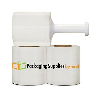 "(12 Rolls) Stretch Plastic Wrap 5"" 1500' 45ga Stretch Wrap / Stretch Film -OSTK"