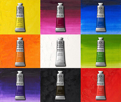 Winsor & Newton Winton Oil Paint 37ml & 200ml Tubes - All Colours Available