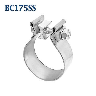 """1.75"""" 1 3/4"""" Genuine Torca AccuSeal Stainless Steel Band Exhaust Clamp AS175SS"""