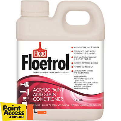 Flood Floetrol Acrylic Paint Conditioner 1 Liter Makes acrylic paint flow