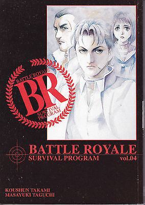 BATTLE ROYALE vol. 4  I° edizione PlayPress