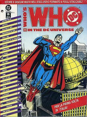 WHO'S IN THE DC UNIVERSE n°  1