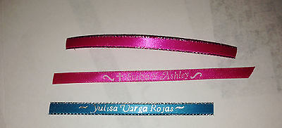50 Pieces Custom Printed Ribbons 1/4 inch thick USA