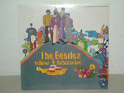 The Beatles Yellow Submarine Sw 153 Reissue 76 Capitol Records Sealed No Barcode