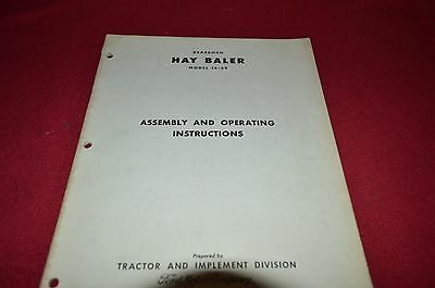 Heavy Equipment Manuals & Books Ford 14-71 76 and 80 Hay Baler ...
