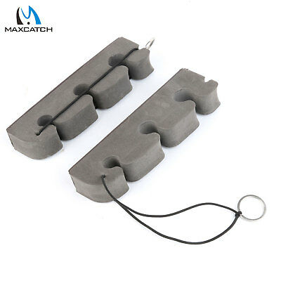 Fly Fishing Magnetic Back Rod Rack 2x 30cm Car Rod Holder Stand Strong Foam