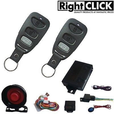 Car Alarm Remote Central Lock Immobiliser AL788HC