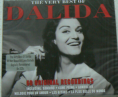THE VERY BEST OF - DALIDA (CD x2)  50 Titres   NEUF SCELLE