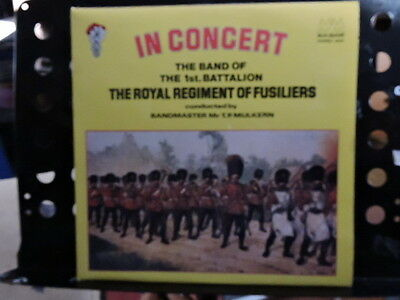 THE ROYAL REGIMENT of FUSILIERS 1st Battalion-In Concert - FREE UK POST