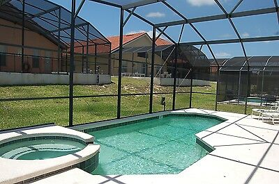 647 Orlando vacation homes in the Disney area 4 bed house with pool and spa