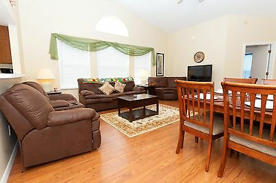 8826 Disney area vacation villas 3 bed home with games room and private pool