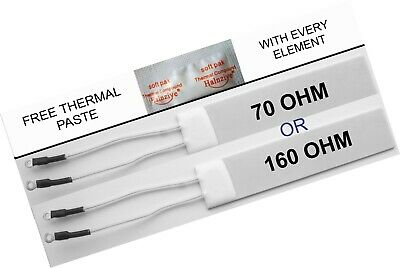 160 OHM or 70 OHM GHD Compatible heater elements new