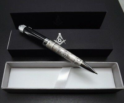 ONE BLUE LODGE PEN QUALITY HEAVY WEIGHT Mason Masonic F&AM GREAT OFFICER GIFT