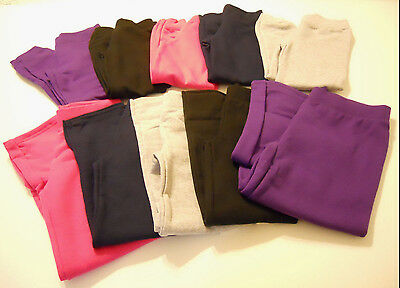 Hanes Girls Sweat Pants Athletic Size 4-16 XS S M L XL Kids Sports Active