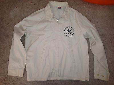 Vintage Sportsmaster Northwestern NW Spirit of 76 Train Zip Up Jacket *L*