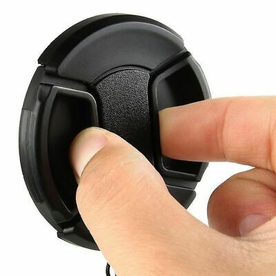 55mm Center Pinch Snap on Front Cap for ALL canon nikon sony Lens
