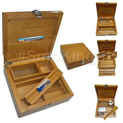 Wolf Productions T4 Deluxe Rolling Box WT14V #SmoKingUK