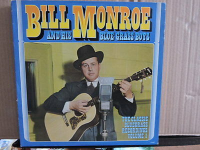 BILL MONROE and his Bluegrass Boys CLASSIC BLUEGRASS Recordings Vol 1 freeUKpost