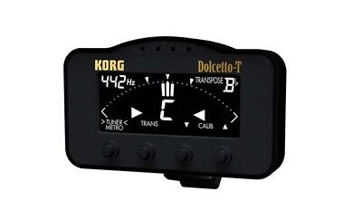 Korg AW3T Dolcetto T Chromatic Tuner and Metronome