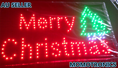 LED NEON MERRY CHRISTMAS Sign for SHOP, HOME,BUSINESS SIZE: 55CM X 33CM