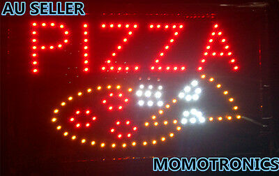 LED NEON PIZZA  Sign for SHOP,HOME,BUSINESS SIZE:55CM X 33CM