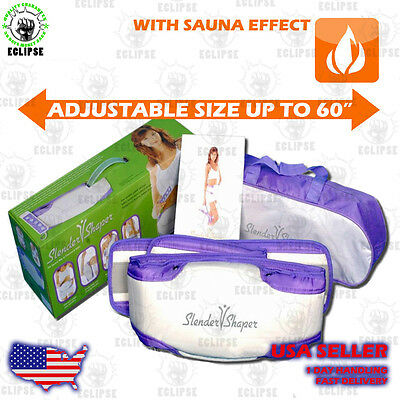 Slender Shaper - Slimming Massage Belt  with Sauna effect.