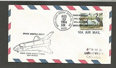 SPACE SHUTTLE EVENT STS-41D WHITE SANDS MISSILE RANGE,NM AUG 30,1984