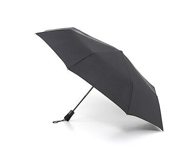 Fulton Auto Open/Close Jumbo Canopy Folding Umbrella in Black High Quality